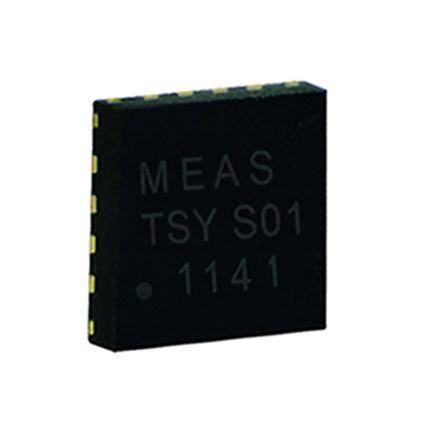 TE Connectivity - G-NICO-018 - TE Connectivity G-NICO-018 温度传感器, 0.5°C精确度, 串行I2C、串行SPI接口, 16引脚 QFN封装