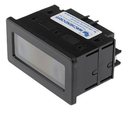 Red Lion - CUB4V020 - Red Lion CUB4V020 3.5位 LCD显示 直流 数字电压表, 68 x 33 mm, 0°C至+60°C