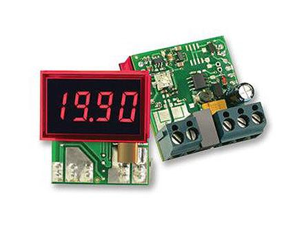 Murata Power Solutions - DCA-20PC-3-DC1-RL-C - Murata 3.5位 LED 数字电流表 DCA-20PC-3-DC1-RL-C, 直流电流, 33.93 x 21.29 mm, 0°C 至 +60°C
