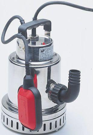 W Robinson And Sons - DRENOX 80/7 230V - W Robinson And Sons DRENOX 系列 IP68 离心泵 DRENOX 80/7 230V, 80L/min最大流量, 220 → 240 V电源, 0.2kW功率