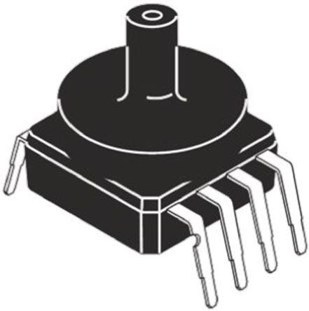 NXP - MPXV5004GC7U - Pressure Sensor 3.92kPa Gauge 1-Port