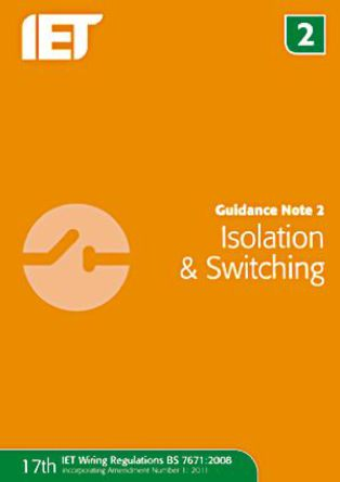 IET - 978-1-84919-273-6 - 《Guidance Note 2: Isolation and Switching》 作者: IET Publication