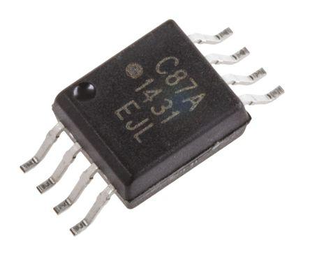 Broadcom - ACPL-C87A-000E - Broadcom ACPL-C87A-000E 隔离放大器, 4.5 → 5.5 V, 8引脚 SSO封装