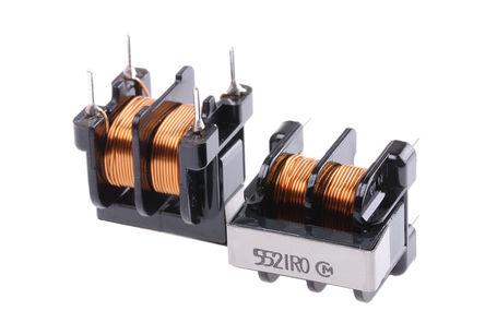 Murata - PLA10AN5521R0R2B - Murata PLA10 系列 5.5 mH PLA10AN5521R0R2B 共模扼流圈, 1A Idc, 100MΩ Rdc