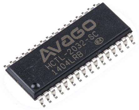Broadcom - HCTL-2032-SC - Broadcom HCTL-2032-SC 解码器, 32引脚 SOIC封装