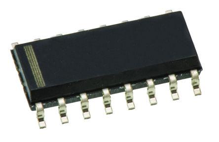 STMicroelectronics - M41T94MQ6F - STMicroelectronics M41T94MQ6F 实时时钟 (RTC), 警报,备用电池,中断,NVRAM,实时时钟,监控计时器功能, 44B RAM, SPI总线, 2.7 → 5.5 V电源, 16引脚