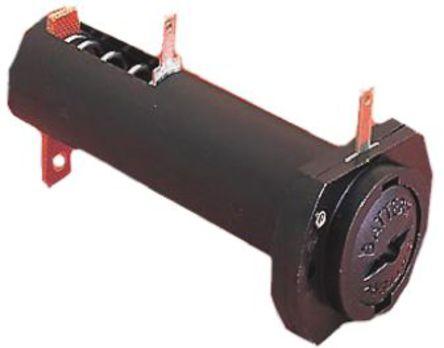Bulgin - BX0011/1 - Bulgin 1节 1 x AA 电池座 BX0011/1, 面板安装, 焊接片触点