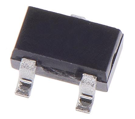 Broadcom - HSMS-285C-BLKG - Broadcom HSMS-285C-BLKG 射频检测器 肖特基 二极管, Io=10mA, Vrev=2V, 3引脚 SOT-323封装