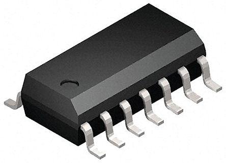 STMicroelectronics - M74HC132YRM13TR - STMicroelectronics M74HC132YRM13TR 4个 施密特 2输入 NAND 逻辑门, 单端输出, -5.2mA, 2 → 6 V电源, 14引脚 SOIC封装