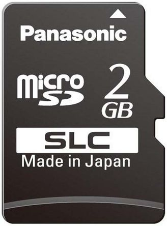Panasonic - RP-SMSC02DE1 - Panasonic 2 GB MicroSD卡