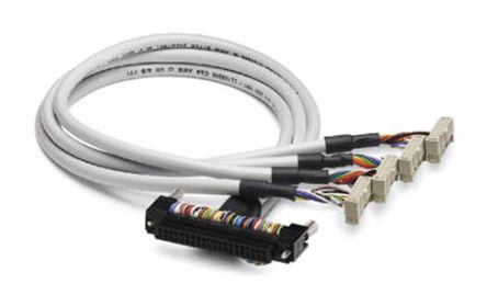 Phoenix Contact - 2304212 - Phoenix Contact 2304212 2m 4 个 IDC 14 针 - Fujitsu 连接器 40 针 母 - 母 电缆
