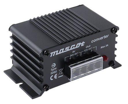 Mascot - 5060000040 - 41W 固定安装汽车电源适配器, 18 → 32V dc / 13.6V