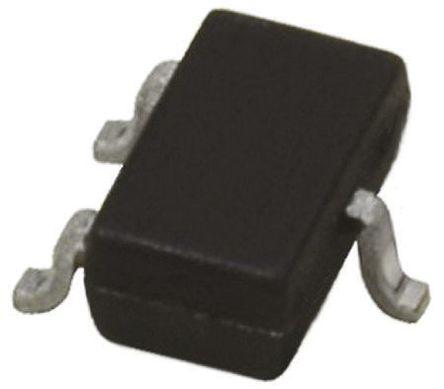 ROHM - 2SD2444KT146R - ROHM 2SD2444KT146R , NPN 双极晶体管, 1 A, Vce=15 V, HFE:180, 100 MHz, 3引脚 表面安装封装