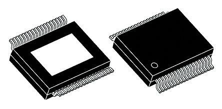 STMicroelectronics - TDA7498LTR - STMicroelectronics TDA7498LTR D 类 漏极开路 音频放大器, 400 (Max)kHz, +150 °C, 70 W @ 8 Ω, 80 W @ 6 Ω最大功率, 36引脚 PowerSSO封装