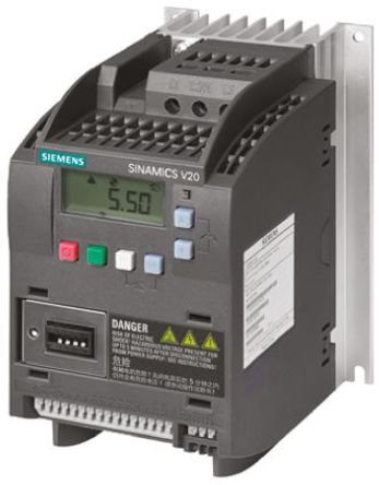 Siemens - 6SL3210-5BB17-5UV0 - Siemens SINAMICS V20 系列 IP20 0.75 kW ��l器��� 6SL3210-5BB17-5UV0, 0 → 550Hz, 200 → 240 V 交流