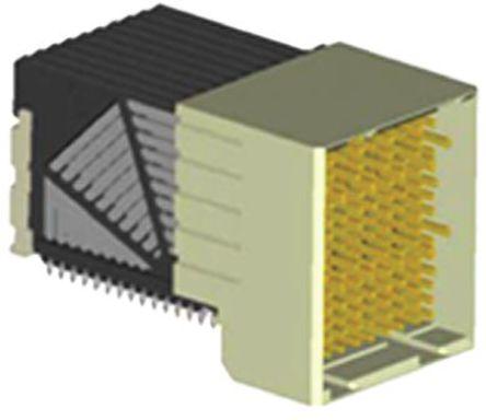 Amphenol FCI - 10035754-101LF - Amphenol FCI Airmax VS 系列 2mm 节距 120 路 直角 12 排 母 背板连接器 10035754-101LF, 按式端子