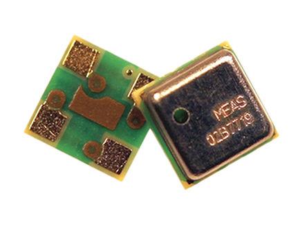 TE Connectivity - MS563702BA03-50 - TE Connectivity MS563702BA03-50 1200mbar 气压传感器, 0 → 3.6 V输出, 4引脚 QFN封装