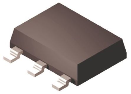 Fairchild Semiconductor - NZT560 - Fairchild Semiconductor NZT560 , NPN 晶体管, 3 A, Vce=60 V, HFE:100, 100 MHz, 3 + Tab引脚 SOT-223封装