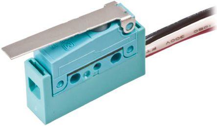Panasonic - ABS561340 - Panasonic ABS561340 单刀双掷 长摆杆 微动开关, 2 A @ 30 V 直流