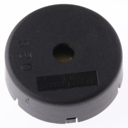 Murata - PKM22EPPH4002-B0 - Murata 75dB 通孔 发声器音调 外部驱动 压电蜂鸣器 PKM22EPPH4002-B0, 最大为 4000 Hz