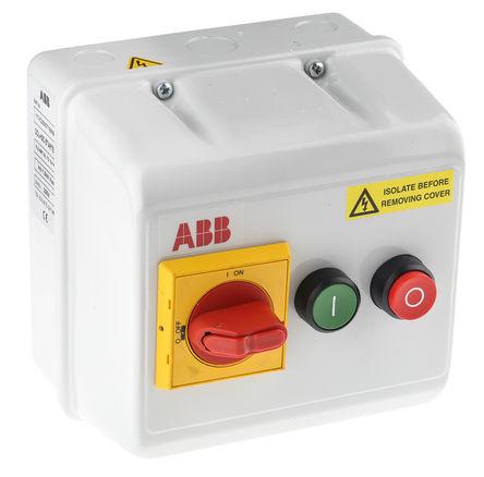 ABB - 1TVC230071S5699 - ABB 1TVC 系列 7.5 kW 自动 DOL 启动器 1TVC230071S5699, 400 V 交流, 3相, IP55