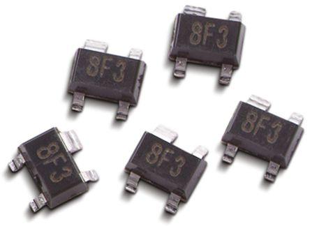 Broadcom - ATF-58143-BLKG - ATF-58143-BLKG HEMT, 5 μA 5 V 双源, 4针 SOT-343封装