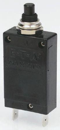 ETA - 2-5700-IG2-P10-DD-12A - ETA 1387955 系列 12A 1极 热磁断路器 2-5700-IG2-P10-DD-12A, 28, 250V dc, V ac