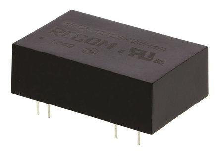 Recom - REC5-1212SRW/H4/A - Recom REC5 系列 5W 隔�x式直流-直流�D�Q器 REC5-1212SRW/H4/A, 9 → 18 V 直流�入, 12V dc�出, 420mA�出, DIP封�b