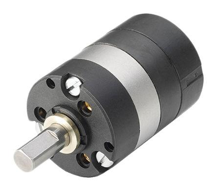 Portescap - R22.10.0 641 - Portescap 641:1 变速箱 R22.10.0 641, 2 Nm, 最高5000 (Input)rpm, 4mm轴直径, 22 mm直径