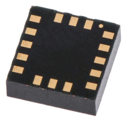 STMicroelectronics - LSM303CTR - STMicroelectronics LSM303CTR 3轴 加速度计和磁力仪, 串行I2C、串行SPI接口, 0 → 400 kHz, 1.9 → 3.6 V电源, 12引脚 LGA封装