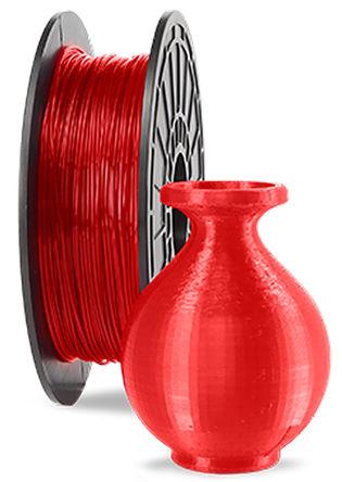 Dremel - 26153D03JA - Dremel 红色 1.75mm直径 PLA 3D 打印机熔丝耗材 26153D03JA, 500g, 适用于 Idea Builder 3D20