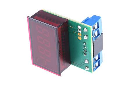 Murata Power Solutions - DCA5-20PC-2-DC4-RL-C - Murata 3.5位 LED 数字电流表 DCA5-20PC-2-DC4-RL-C, 直流电流, 33.93 x 21.29 mm, 0°C 至 +60°C