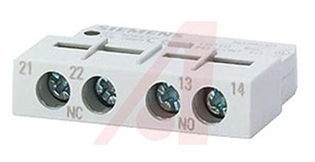 Siemens - 3RV1901-1F - Siemens 3RV1901-1F 底盘安装 辅助触点块, DPNO