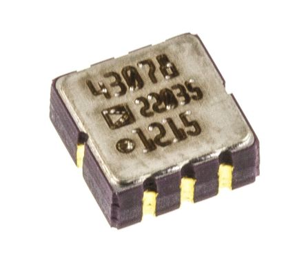 Analog Devices - ADW22035Z - Analog Devices ADW22035Z , 加速表, 0.5 → 2.5 kHz, 3 → 6 V电源, 8引脚 CLCC封装