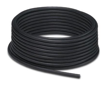 Phoenix Contact - 1457432 - Phoenix Contact 100m长 3 芯 18 AWG 黑色 聚氯乙烯 PVC护套 执行器/传感器电缆 1457432