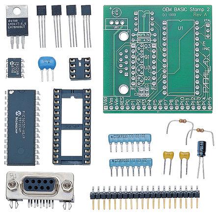 Parallax Inc - 27291 - Parallax Inc BASIC Stamp 2 OEM Module Kit �_�l套件 27291