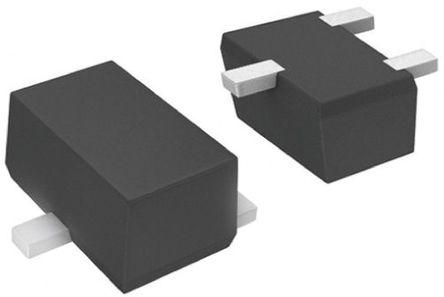 Panasonic - DRC3114T0L - Panasonic DRC3114T0L NPN 数字晶体管, 100 mA, Vce=50 V, 10 kΩ, 电阻比:无, 3引脚 SSSMini3 F2 B封装