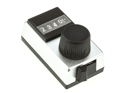 Vishay - 15B31B10 - Vishay 银色 电位计旋钮 15B31B10, 带白色指示灯, 6.35mm轴, 17.65mm直径旋钮