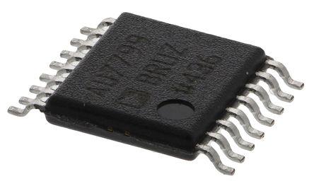 Analog Devices - AD7799BRUZ - Analog Devices AD7799BRUZ 24 位 ADC, 差分输入, SPI接口, 16引脚 TSSOP封装