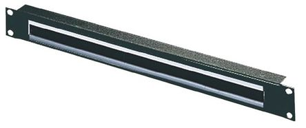 Rittal - 5502255 - Rittal 钢 电缆入口面板 5502255, 390 mm x 20 mm x 1 U, 使用于外壳类型 TS IT