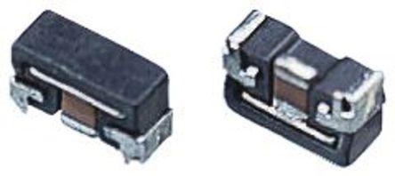 Panasonic - EXCCET470U - Panasonic EXCCET 系列 50 V 直流 1000MHz 2A EMI 滤波器 EXCCET470U, SMD, 平面接触接端, 1807封装