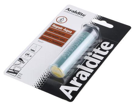 Araldite - ARA-400032 - Araldite Repair Aqua 白色 环氧胶粘剂 ARA-400032, 应用于陶瓷、混凝土、玻璃纤维、金属、木材