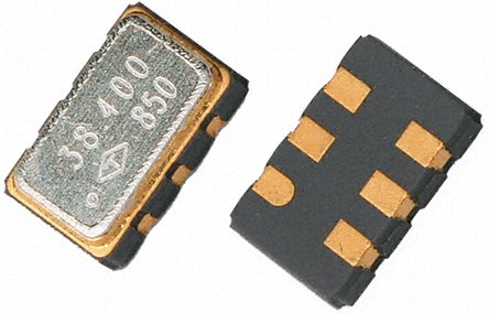 TAITIEN - R0053-O-005-3 - TAITIEN 245.76 MHz 电压控制振荡器 R0053-O-005-3, 2.96 → 3.63 V, 6引脚 SMT, 7x5mm
