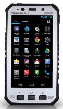Panasonic - FZ-X1AFAAACE - Panasonic 5in屏幕 1280 x 720pixels 2GB RAM Toughpad, Android 4.2.2, 426.4g