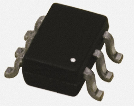 DiodesZetex - MMDT5551-7-F - DiodesZetex MMDT5551-7-F, 双 NPN 晶体管, 200 mA, Vce=160 V, HFE:30, 300 MHz, 6引脚 SOT-363封装