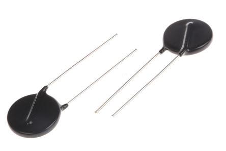 Panasonic - ERZV20D431 - Panasonic ZNR 系列 100A 710V 金属氧化物压敏电阻 ERZV20D431, 21.5 (Dia.) x 6.4mm