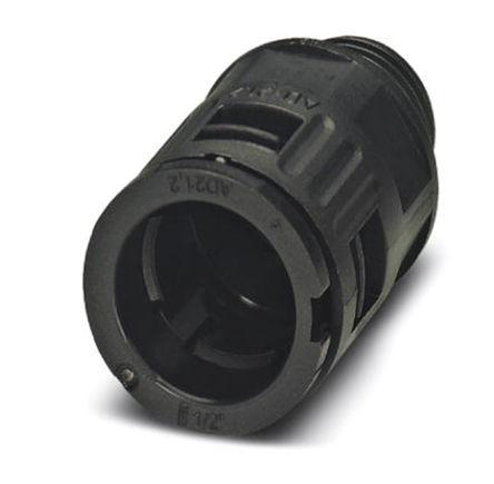 Phoenix Contact - 3240891 - Phoenix Contact IP66 黑色 聚酰胺 电缆固定头 3240891 至 21.2mm电缆直径, -40°C至+115°C, PG16螺纹