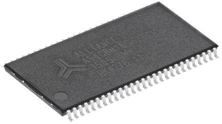 Alliance Memory - AS4C8M16S-7TCN - AS4C8M16S-7TCN, 128Mbit 143MHz SDRAM, 3 → 3.6 V, 54针 TSOP封装