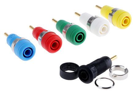 Multi Contact - 20985 - Multi Contact 20985 母 测试插座, 镀金触点