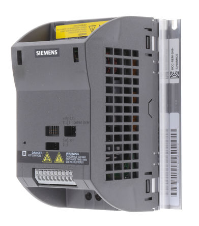 Siemens - 6SL3211-0AB13-7BA1 - Siemens SINAMICS G110 系列 IP20 0.37 kW ��l器��� 6SL3211-0AB13-7BA1, 0 → 550 Hz, 6.2 A, 200 → 240 V 交流